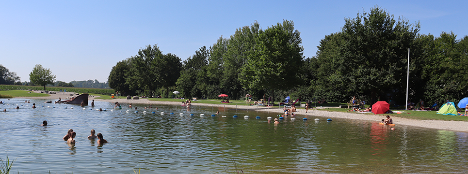 Grüne Lagune von Ampfing